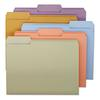Smead File Folders, 1/3 Cut Top Tab, Letter, Assorted Colors, 100/Box