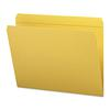 Smead File Folders, Straight Cut, Reinforced Top Tab, Letter, Goldenrod, 100/Box