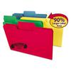 Smead SuperTab Heavyweight folder, Assorted, 1/3 Cut, Legal, 50/BX