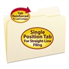 Guide Height Folder, 2/5 Cut Right, Reinforced Top Tab, Legal, Manila, 100/Box