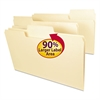 SuperTab File Folders, 1/3 Cut Top Tab, Legal, Manila, 100/Box