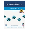Hammermill Copy Plus Copy Paper, 92 Brightness, 20lb, 8-1/2 x 11, White, 5000 Sheets/Carton