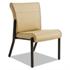 La-Z-Boy Contract Gratzi Reception Series Armless Guest Chair, Taupe Vinyl