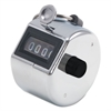 Bates Tally I Hand Model Tally Counter, Registers 0-9999, Chrome