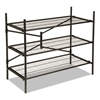 Cosco Instant Storage Shelving Unit, 3 Shelves, 42 3/4 x 20 3/4 x 35 3/4, Black