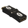 "Tripp Lite HDMI Adapter Cables, 1"", Black, HDMI Male; HDMI Male"