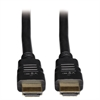 High Speed HDMI Cable with Ethernet, Digital Video with Audio, 10 ft, Black