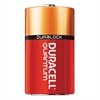 Quantum Alkaline Batteries with Duralock Power Preserve Technology, D, 12/Box