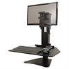 Victor High Rise Collection Sit-Stand Desk Converter, 28 x 23 x 15 1/2, Black