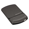 Fellowes Wrist Support with Microban Protection, Graphite/Black
