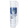 WNA Classicware Plastic Coffee Mugs, 8 oz., Clear, 8 Mugs/Pack