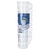 Classicware Plastic Coffee Mugs, 8 oz., Clear, 192/Carton