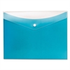 Pendaflex Poly Snap Envelope, 8 1/2 x 11, Blueberry