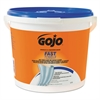 GOJO FAST TOWELS Hand Cleaning Towels, Cloth, 9 x 10, White 225/Bucket