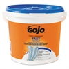 GOJO FAST TOWELS Hand Cleaning Towels, 7 3/4 x 11, 130/Bucket, 4 Buckets/Carton