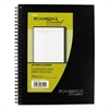 Cambridge Action Planner Side Bound Business Notebook, 7 1/2 x 9 1/2, Black, 80 Sheets