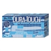 AnsellPro Dura-Touch PVC Gloves, Lightly Powdered, Small, Blue