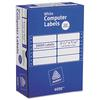 Dot Matrix Mailing Labels, 2 Across, 15/16 x 3 1/2, 10000/Box