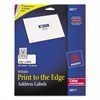 Vibrant Color-Printing Address Labels, 1 1/4 x 2 3/8, White, 450/Pack