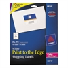 Vibrant Color-Printing Shipping Labels, 3 x 3 3/4, White, 150/Pack