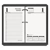 Economy Daily Desk Calendar Refill, 3-1/2w x 6h, 2017