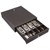 Hercules Cash Drawer, Two Keys, 13 x 14 1/2, Charcoal Gray