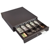 FireKing Hercules Cash Drawer, Two Keys, 16 1/2 x 17 1/2, Charcoal Gray