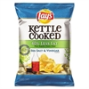 Kettle Cooked Salt & Vinegar Chips, 1.375 oz Bag, 64/Carton