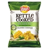 Kettle Cooked Jalapeno & Cheddar Chips, 1.375 oz Bag, 64/Carton