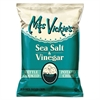 Kettle Cooked Sea Salt & Vinegar Potato Chips, 1.375 oz Bag, 64/Carton
