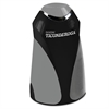 "Ticonderoga Personal Electric Pencil Sharpener, 3 1/4""w x 2 7/8""d x 7 1/4""h, Black/Gray"