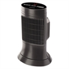 "Digital Ceramic Mini Tower Heater, 750 - 1500 W, 10"" x 7 5/8"" x 14"", Black"