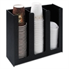 Commercial Grade Cup Holder, 12 3/4w x 4 1/2d x 11 3/4d, Black