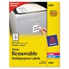 Avery Removable Multi-Use Labels, 3 1/3 x 4, White, 150/Pack