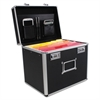 Advantus Locking Security File Box, Letter, 13 3/8 x 10 3/8 x 13 1/4, Black