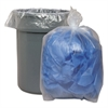 Low Density Repro Can Liners, 1.1 Mil, 60gal, 38 x 58, 10 Bags/Roll, 10 Rolls/CT