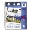 Avery Photo Storage Pages for Six 4 x 6 Mixed Format Photos, 3-Hole Punched, 10/Pack