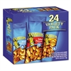 Planters Variety Pack Peanuts & Cashews, 1.75 oz/1.5 oz Bag, 24/Box
