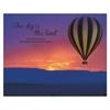 """Advantus """"The Sky is the Limit"""" Silhouette Canvas Motivational Print, 22 x 28"""