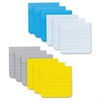 Post-it Full Adhesive Notes, 3 x 3, Ruled, Assorted New York Colors, 25-Sheet, 12/Pack