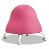 "Safco Runtz Ball Chair, 12"" Diameter x 17"" High, Bubble Gum Pink"
