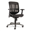 Alera Alera Eon Series Multifunction Wire Mech, Mid-Back Suspension Mesh Chair, Black