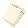 "Stackable Side Tab Letter Size Folder Dividers with Fastener, 1/2"", 50 Each/Pack"