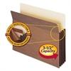 "Smead 3 1/2"" Exp Pocket w/Tyvek, Straight, Letter, Manila/Redrope, 10/Box"