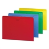 Colored File Jackets w/Reinforced 2-Ply Tab, Letter, Assorted, 100/Box