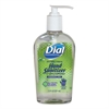 Dial Professional Antibacterial Gel Hand Sanitizer with Moisturizer, 7.5 oz, Pump, Fragrance-Free