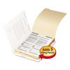 "Stackable End Tab Folder Dividers with Fastener, Letter, 1/2"" Cap, 50 Each/Pack"