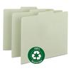 Smead Recycled Tab File Guides, Blank, 1/3 Tab, Pressboard, Letter, 100/Box
