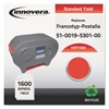 Innovera Remanufactured 51-0019-5301-00 (T-1000) Postage Meter Ink, Red