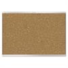 Prestige 2 Magnetic Cork Bulletin Board, 48 x 36, Aluminum Frame